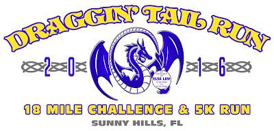 2016 Draggin' Tail Run logo