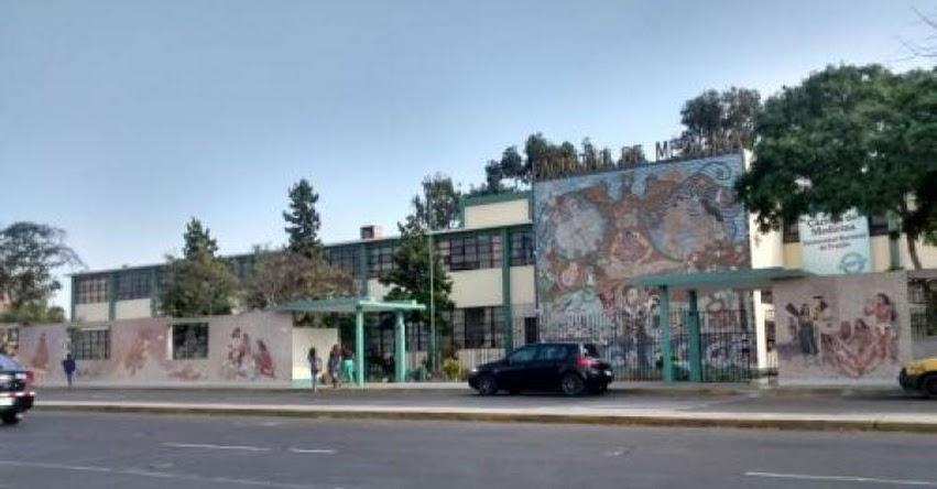 Dañan mural de la Universidad Nacional de Trujillo, considerado uno de los más grandes de Latinoamérica