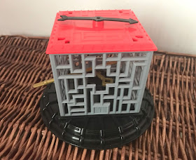 key in a cube maze challenge