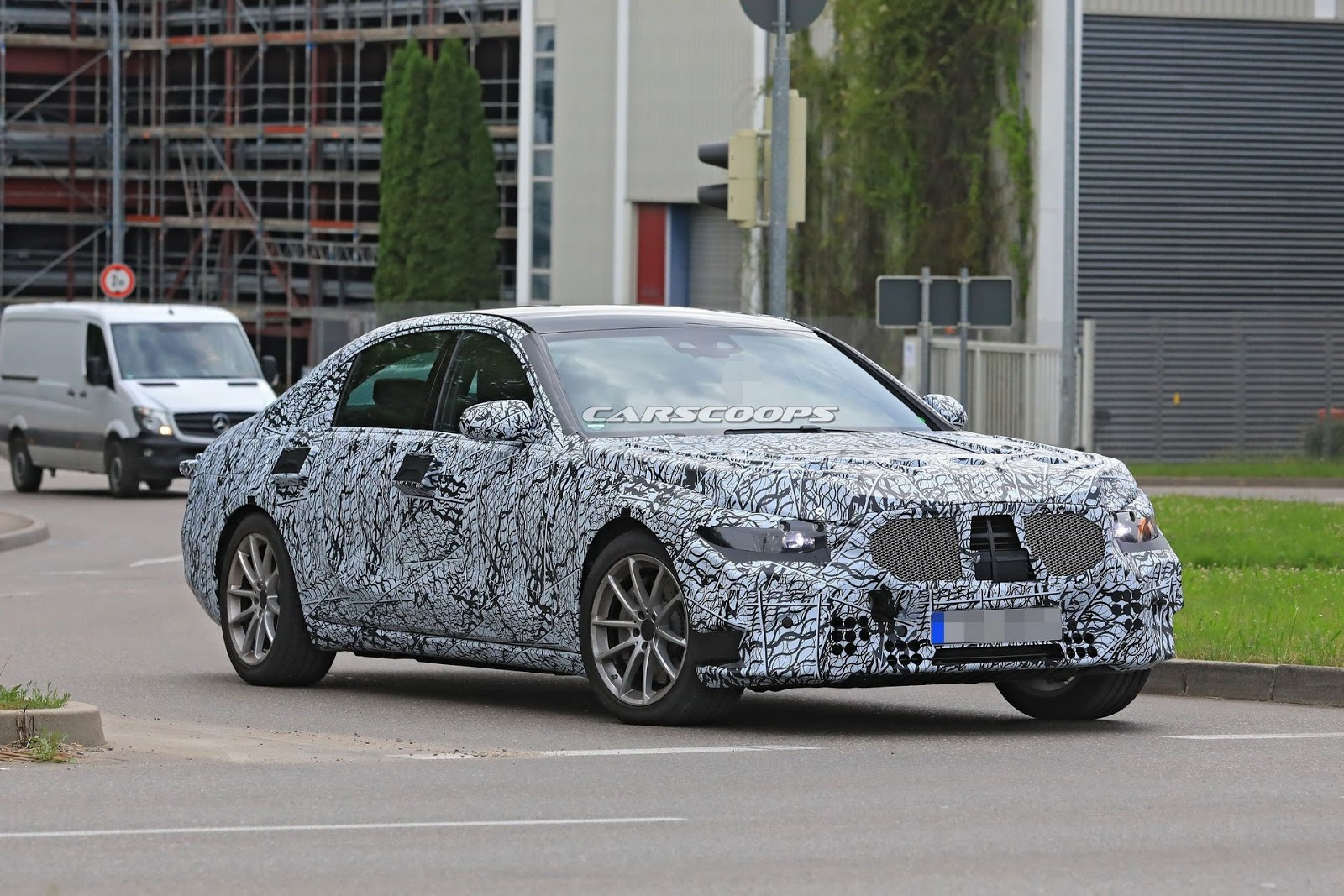 2020 Mercedes-Benz S-Class spy shot - MS+ BLOG