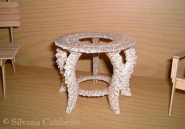 Origami 3D tavolino elegante Silvana Calabrese - Blog