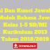 Soal Dan Kunci Jawaban Mulok Bahasa Jawa Kelas 1-5 SD/MI Kurikulum 2013 Tahun Pelajaran 2018/2019 - Mutu Sekolah