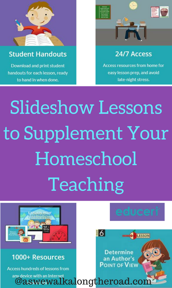 Review of Educeri slideshow lesson plans