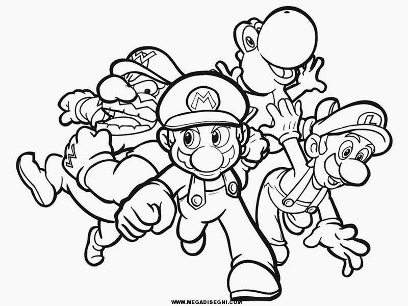Super Mario Bros Da Colorare