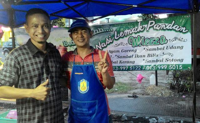 Kamil Salleh, Nasi Lemak Pandan Mieeza,