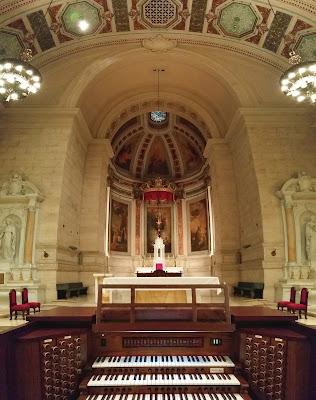 RL-58 Allen Organ at St. Martins Chapel at St. Charles Seminary Philadelphia PA