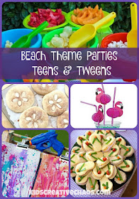 Beach Theme Pool Party Ideas for Teens and Tweens