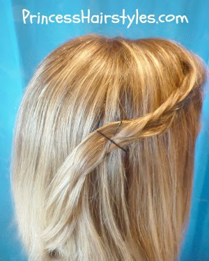 bohemian fishbone braid hairstyle