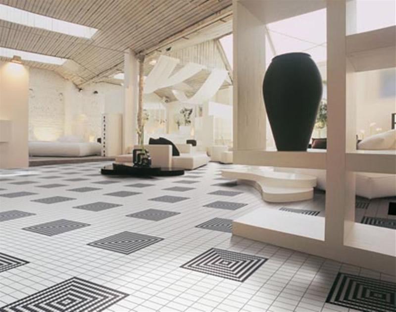 Modern homes flooring tiles designs ideas. | New home designs