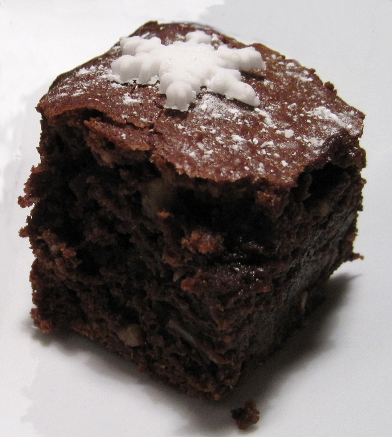 Boozy Brownie Bite