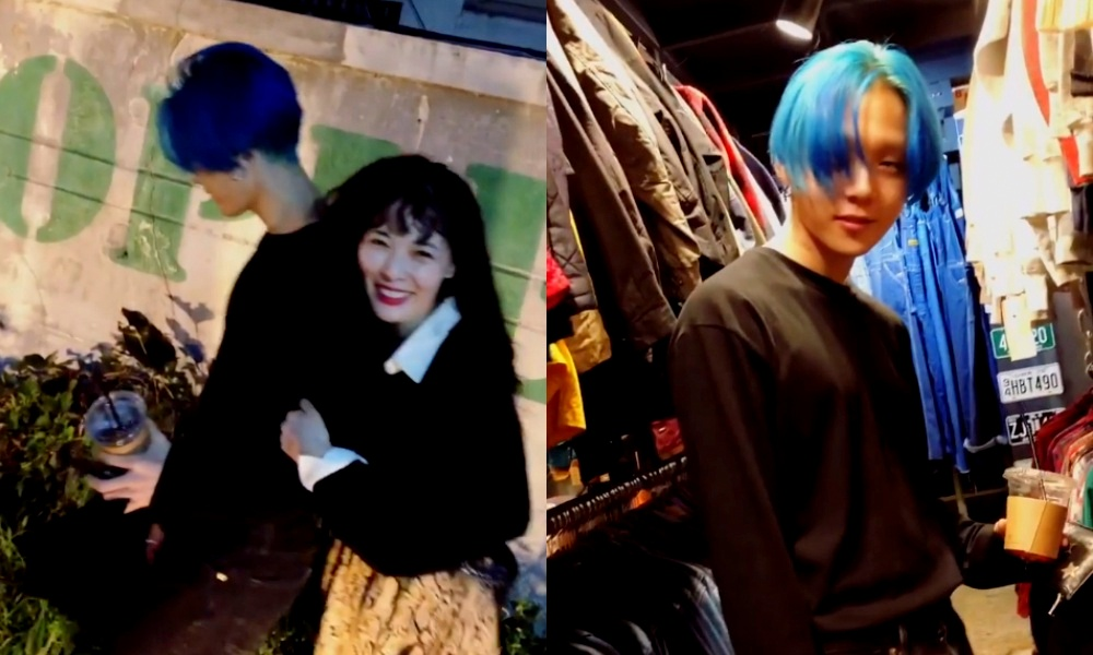 Hyuna Uploads A Dating Video with E'Dawn After Officially Exiting Cube Entertainment