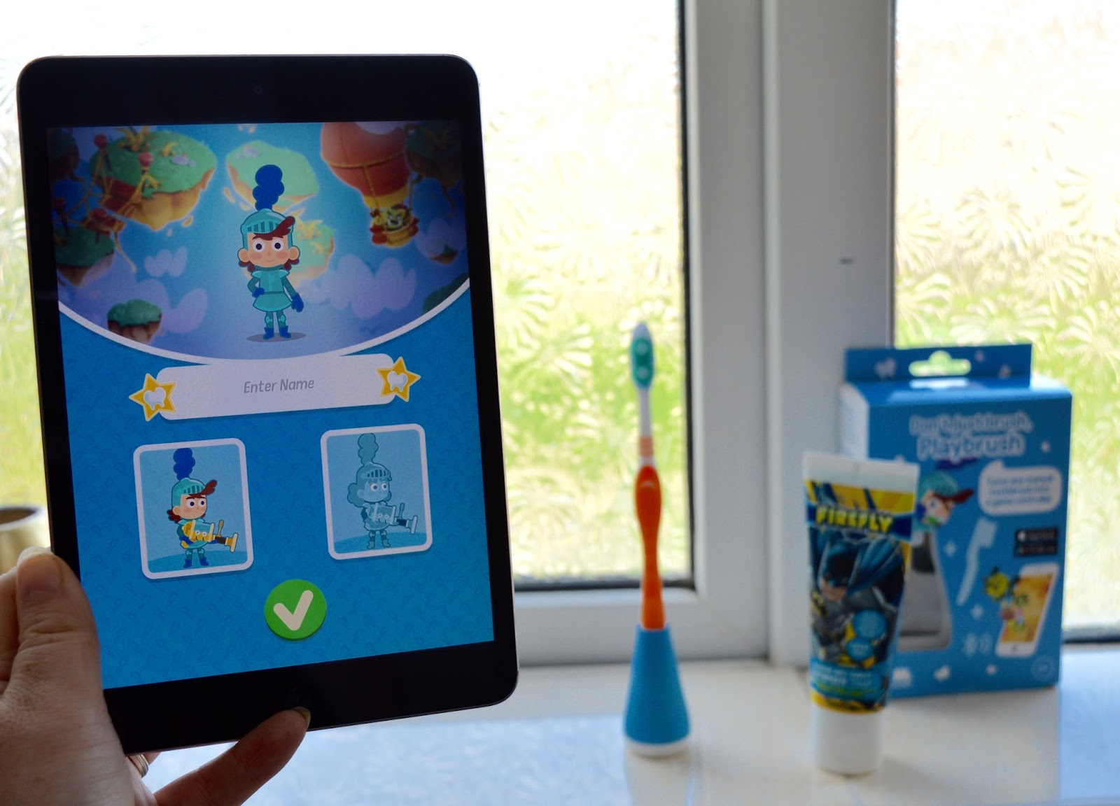 Don't just brush, Playbrush review | Turn your child's toothbrush into a fun game - setting up the app