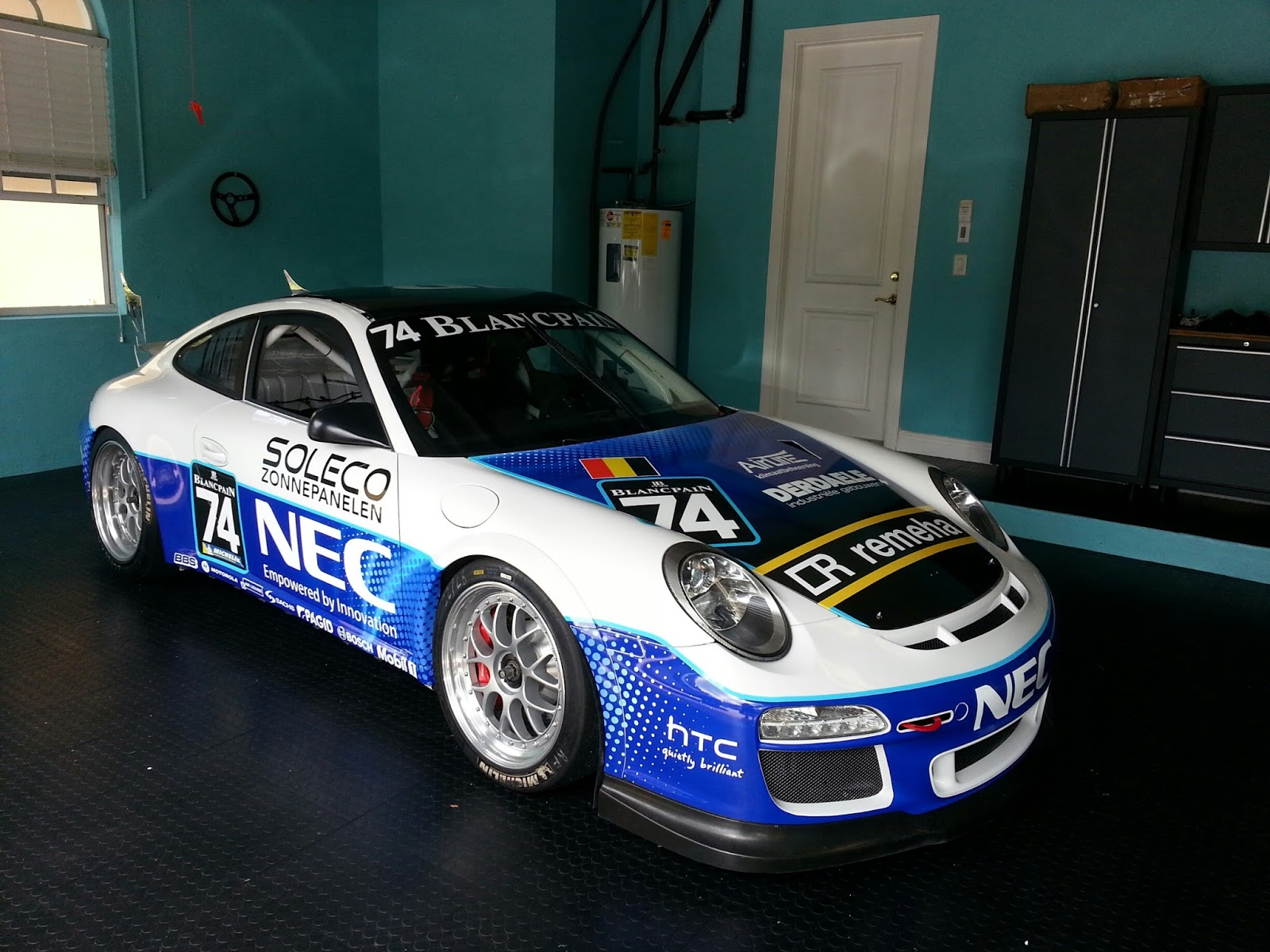 c99278fbc18 Custom Porsche 911 GT3 Vinyl Wrap Graphics Race Car West Palm Beach ...