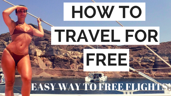 how to get free flights travel miles
