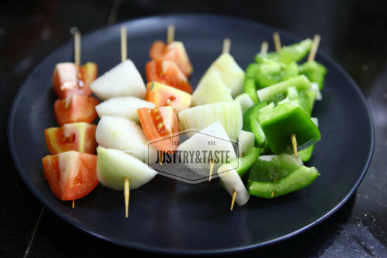 Resep Chicken Teriyaki Shish Kebab