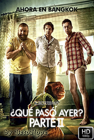¿Que Paso Ayer? Parte 2 [2011] [Latino-Ingles] HD 1080P [Google Drive] GloboTV