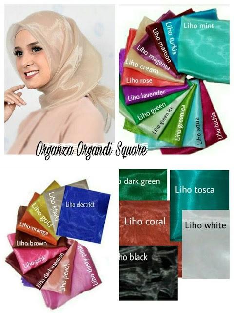 kain organdi, bahan kerudung favorit para hijabers