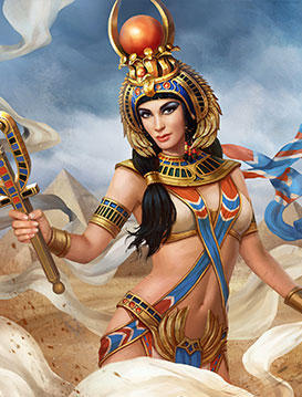 Protector of Souls: As long as Hathor is on the battlefield, she is the  primary target of her opponents (if you play with multiple Hathors, the one  with the ...