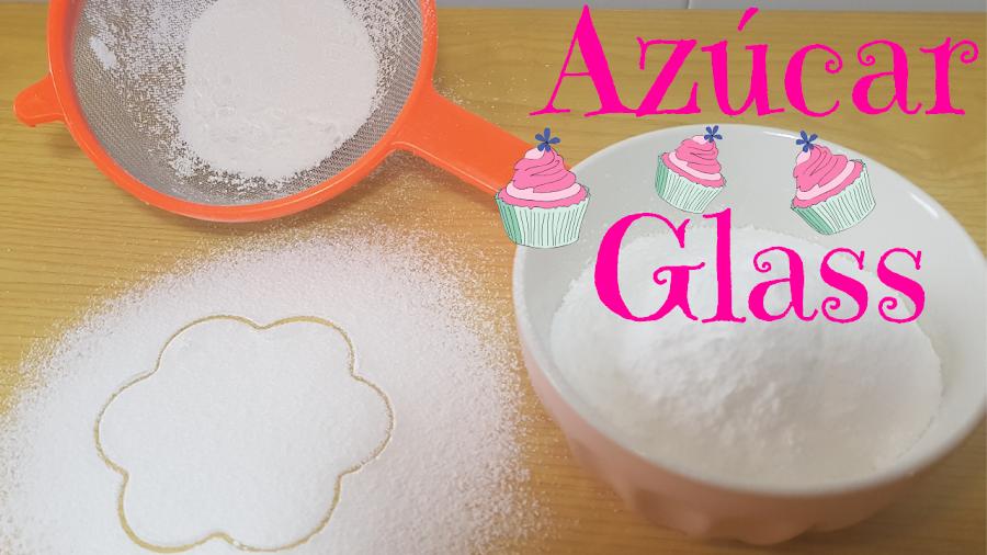 como hacer azúcar glass casero