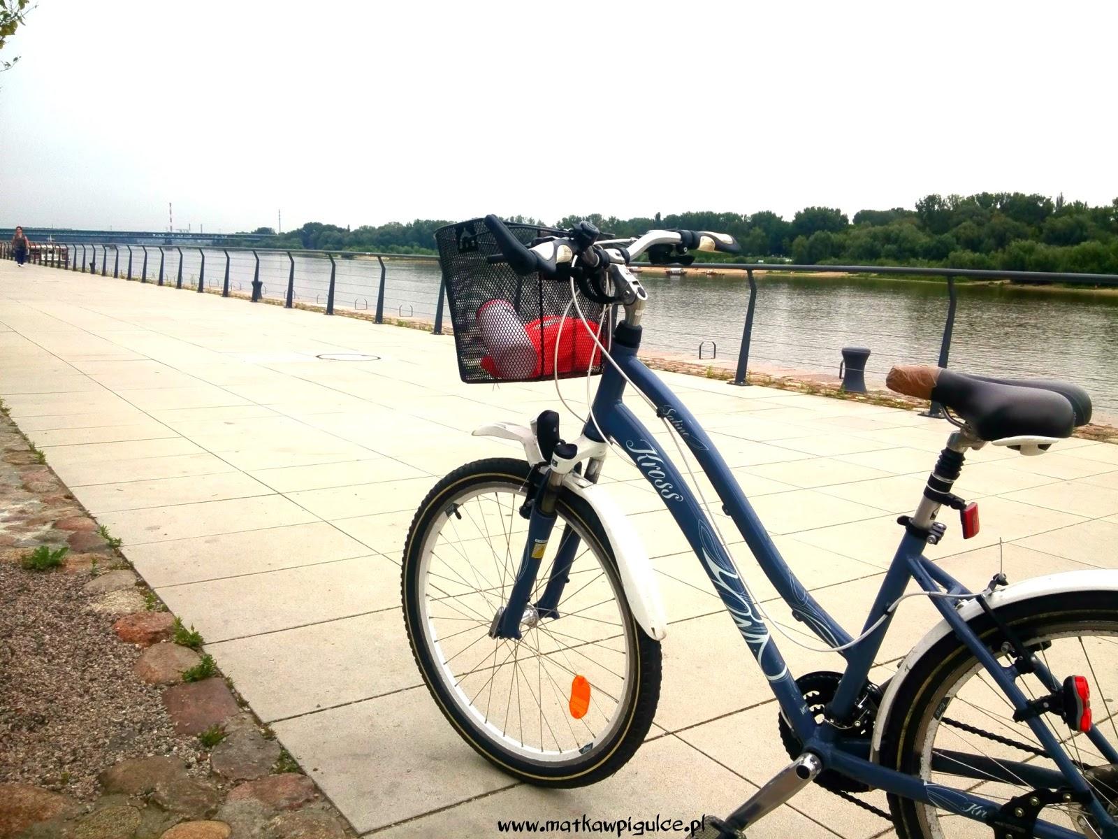 wycieczka rowerowa po Warszawie