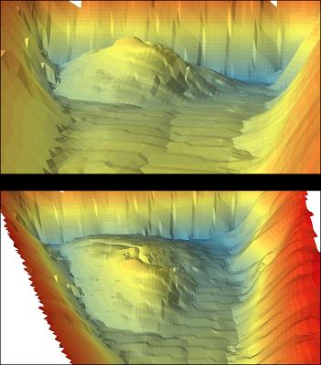 Central Arizona Project, sedimentation, ciBioBase, ArcScene, Lowrance, BioBase, sonar, mapping, acoustics