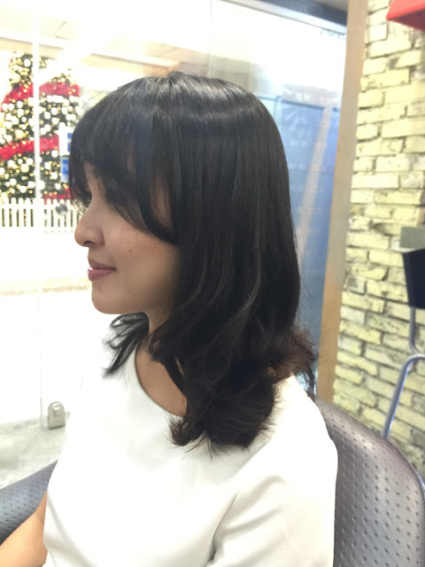 korean setting perm natural curl singapore