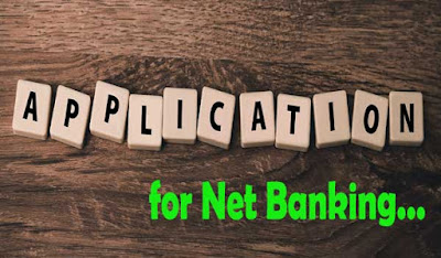 net banking ke liye application