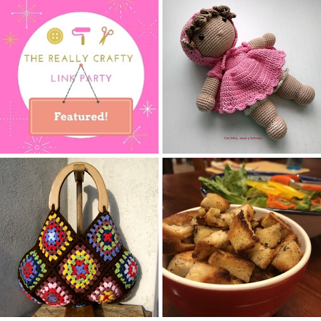 The Really Crafty Link Party #152 featured posts
