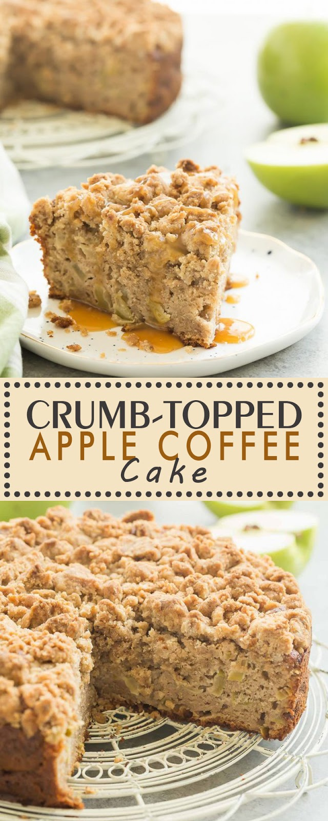 CRUMB-TOPPED APPLE COFFEE CAKE