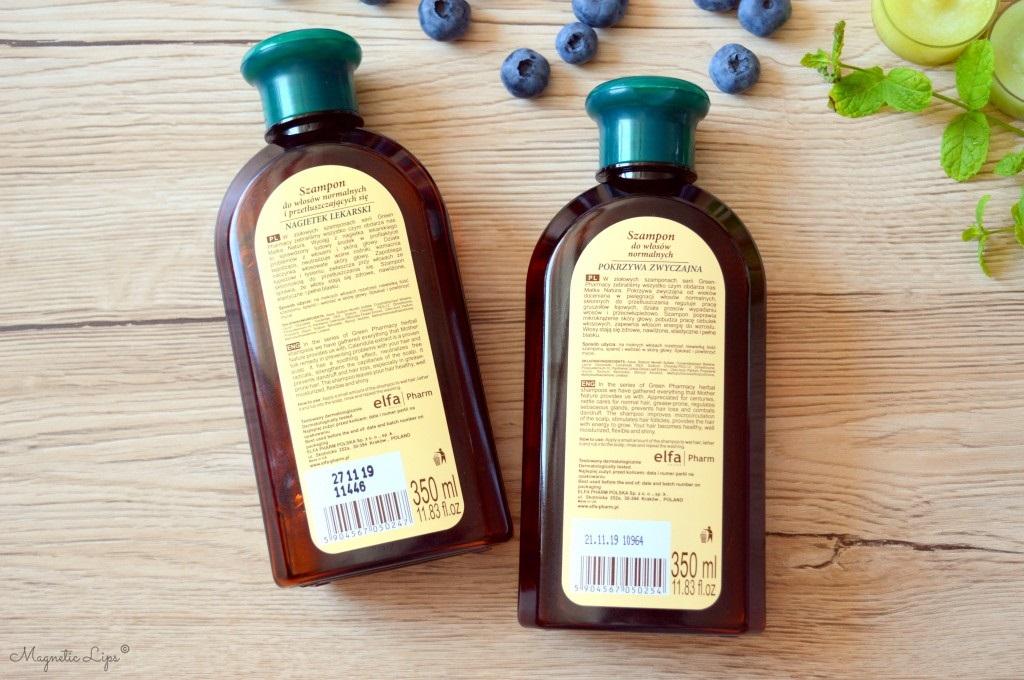 szampon do włosów z ziołami