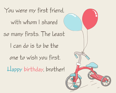 Happy Birthday massages wishes for friends: you were my first friend, with whom i shared so many first