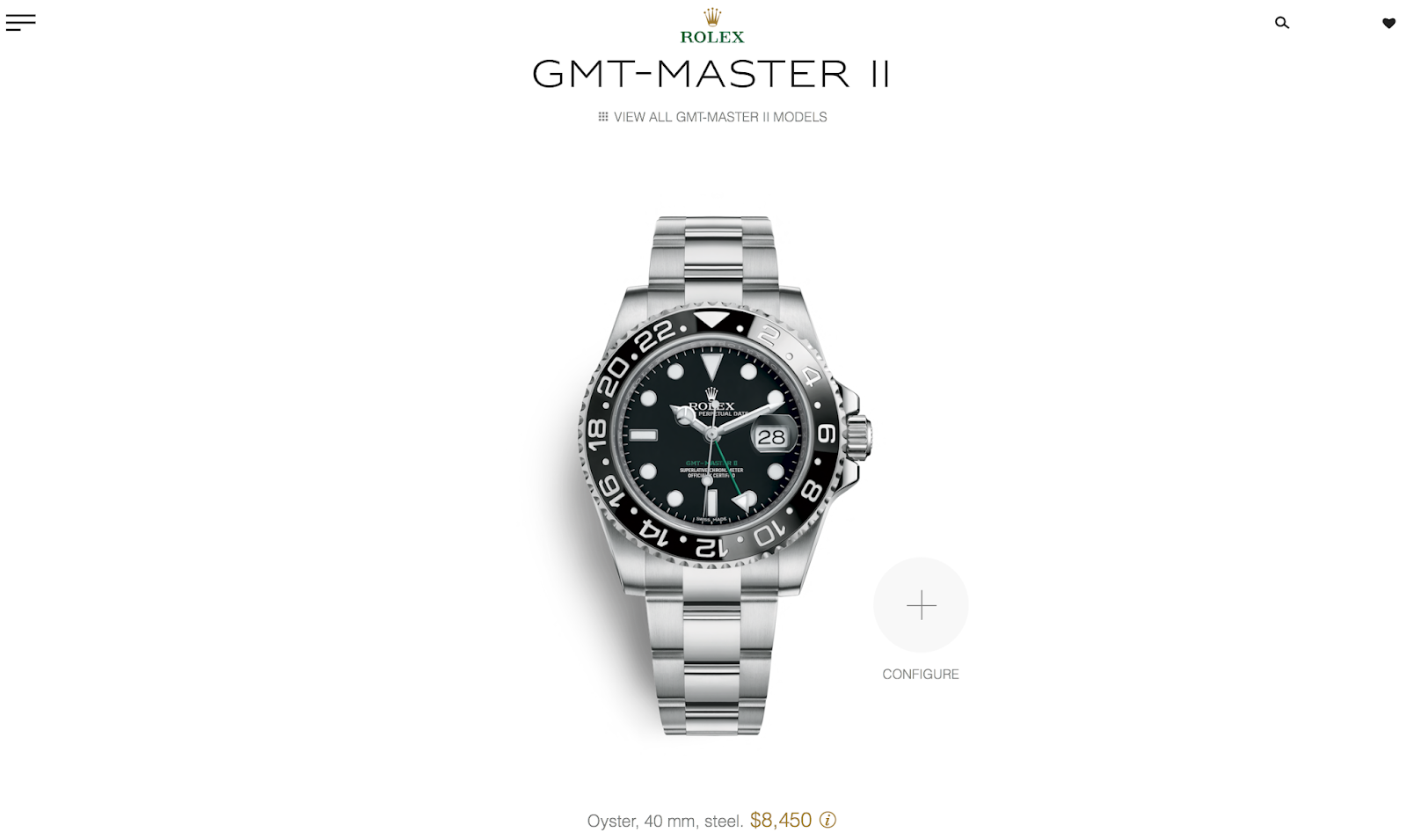 C-segment Wrist Watches: SOLD : LNIB Rolex GMT-Master ii
