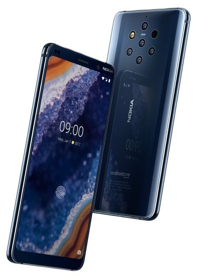 Nokia 9 PureView, World's First Smartphone with Penta-Rear Cam, announced at MWC 2019