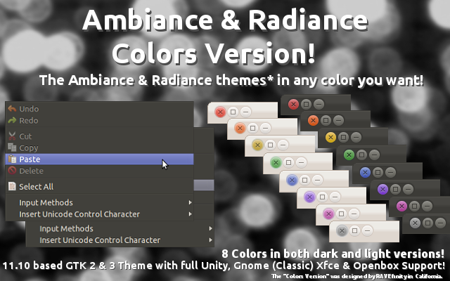 Download Ambiance And Radiance Themes In 8 Different Colors ~ Web
