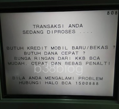 Cara Setor Tunai di Mesin ATM BCA