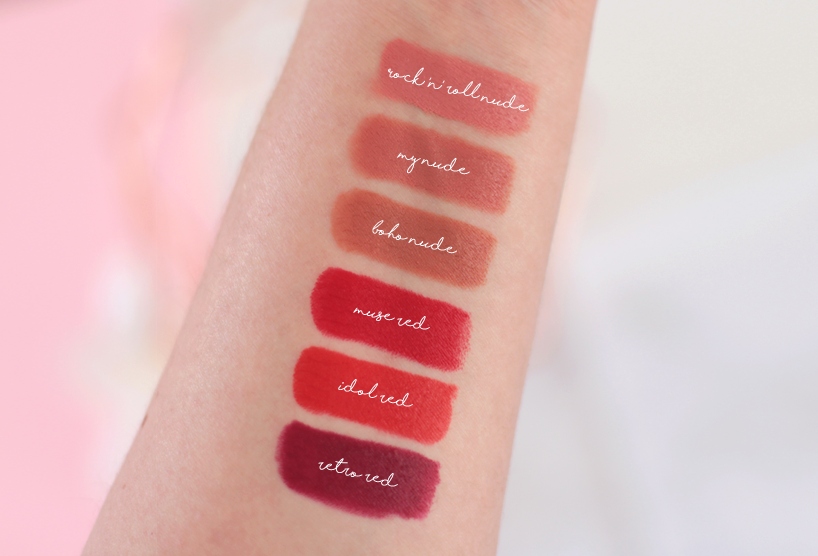 Rimmel London Anniversary Collection Kate Lipstick Swatches blog