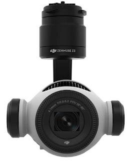 Камера Zenmuse Z3 с записью видео в формате 4K