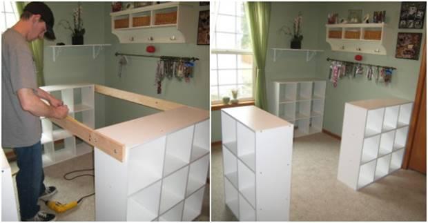 Creative ideas diy customized craft desk home decor - Creative office desk ideas ...
