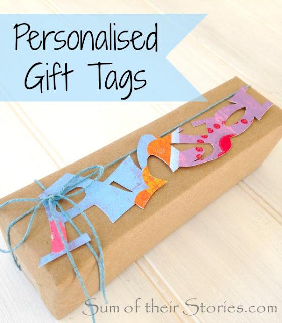 Name Gift Tags