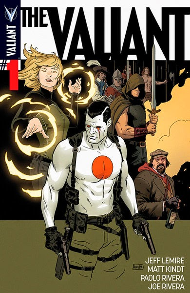 The Valiant 1 Cover Jeff Lemire Paolo Rivera