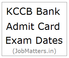image : HP KCCB Bank Admit Card 2017 Exam Dates @ JobMatters.in