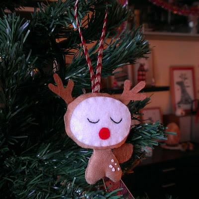 Adorno Navidad Reno Christmas Ornament Reindeer