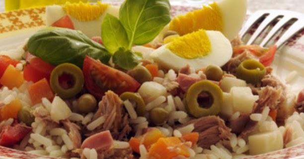 Ensalada de atun con huevo y arroz blanco recetas de - Ensalada de arroz y atun ...