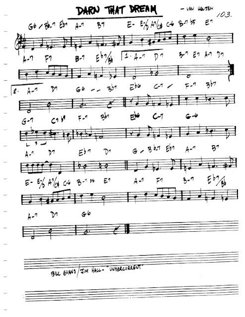 Partitura Violín Van Heusen
