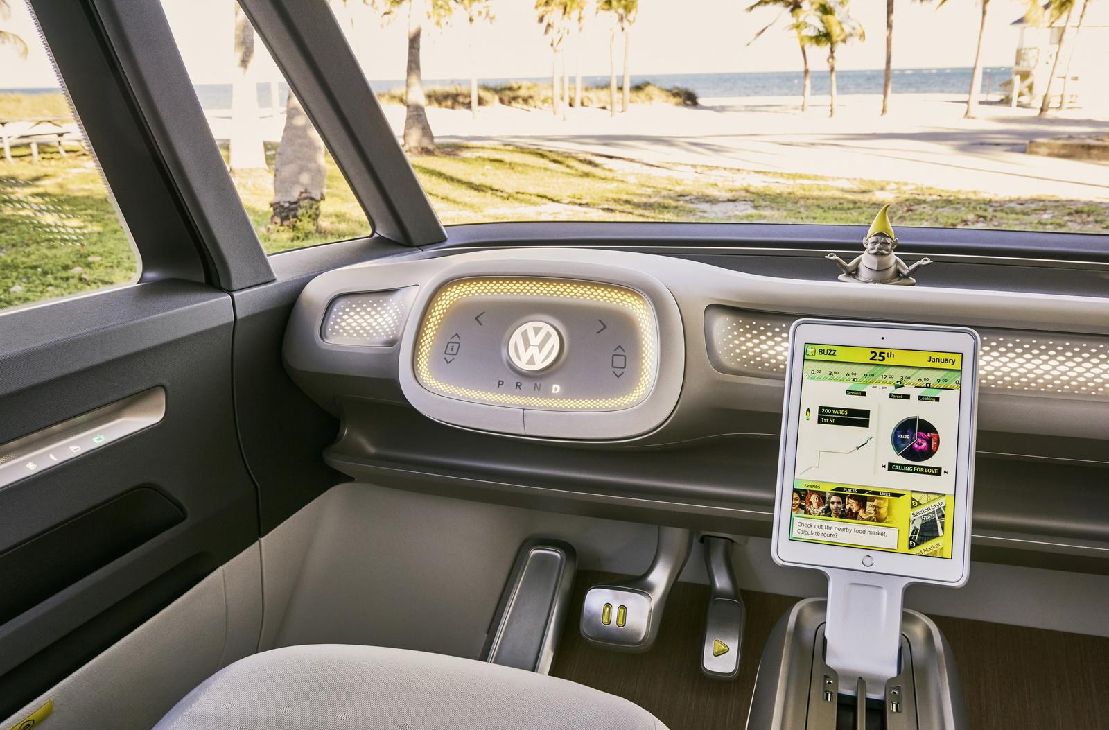 VW I.D. Buzz Concept Making Euro Debut In Geneva [38 Pics] | Carscoops