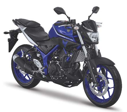 Yamaha MT-25 Solid Blue