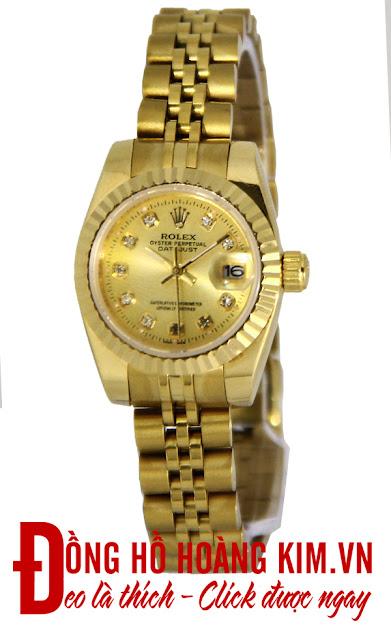 Đồng hồ nữ Rolex dây inox giá rẻ dưới 2 triệu