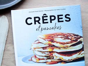 Crêpes et pancakes { le livre }