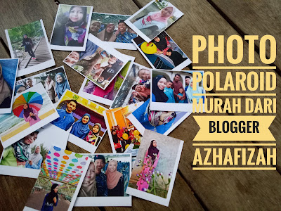 Photo polaroid, tutorial print photo polaroid, gambar polaroid murah, diy photo polaroid, cara mudah print gambar polaroid, polaroid, kertas glossy paper