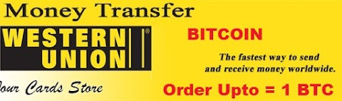 BUY SELL EXCHANGE  BITCOIN THROUGH WESTERN UNION